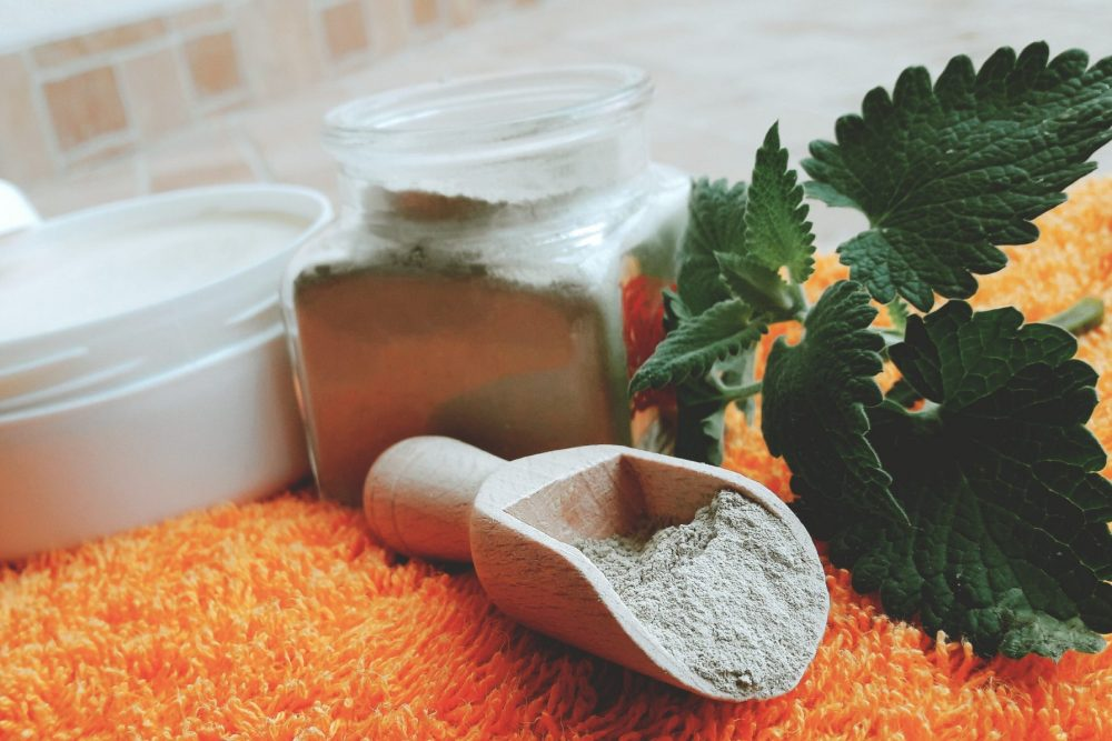 clay detox for legs and feet