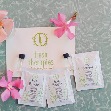 Fresh Therapies natural nail polish remover