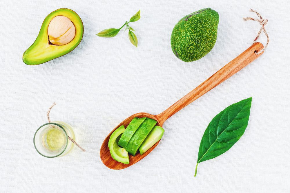 homemade avocado skin and hair mask