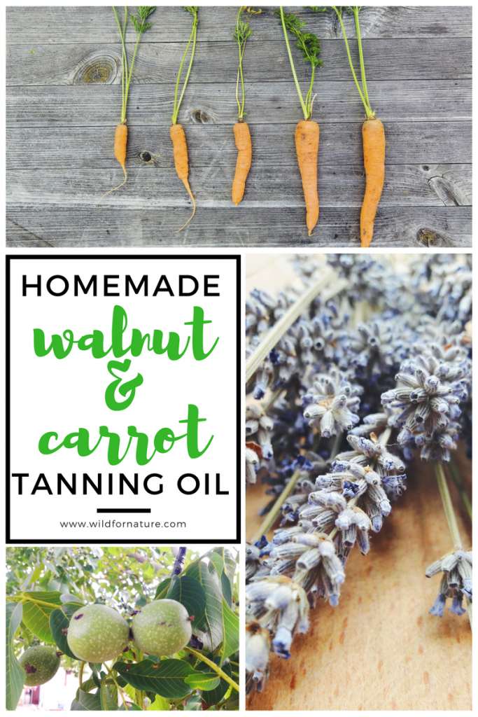 Natural oils as sunscreens: SPF + homemade natural tanning oil