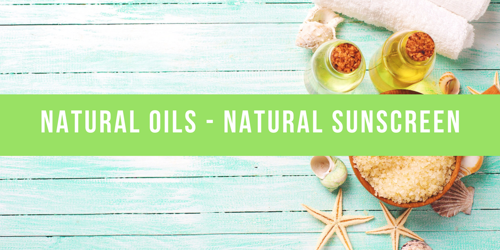natural oils as sunscreen and a diy guide to homemade tanning oil