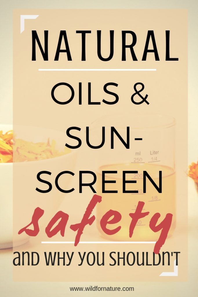 sunscreen oils