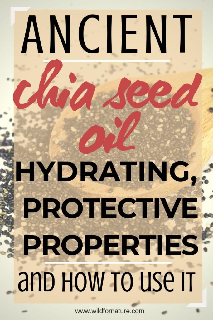 chia oil for skin