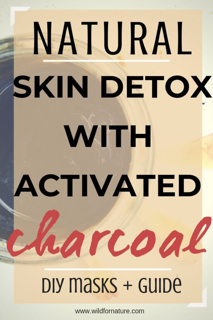 activated charcoal for skin, DIY charcoal mask