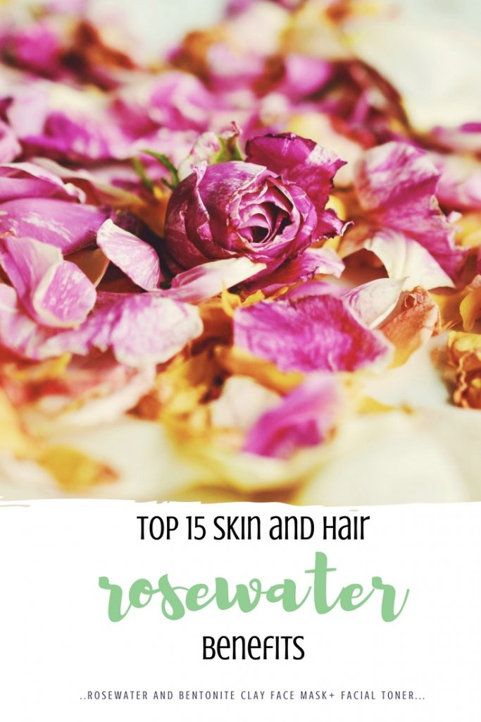 top 15 rosewater skin and hair benefits