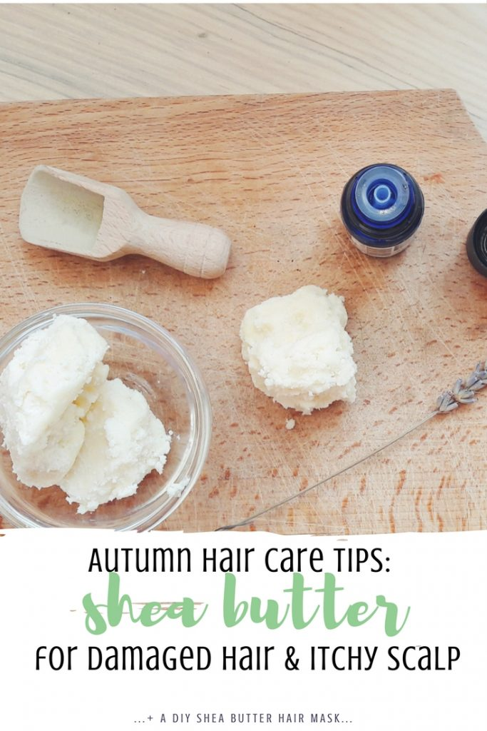 Autumn hair care tips how to use shea butter for damaged hair