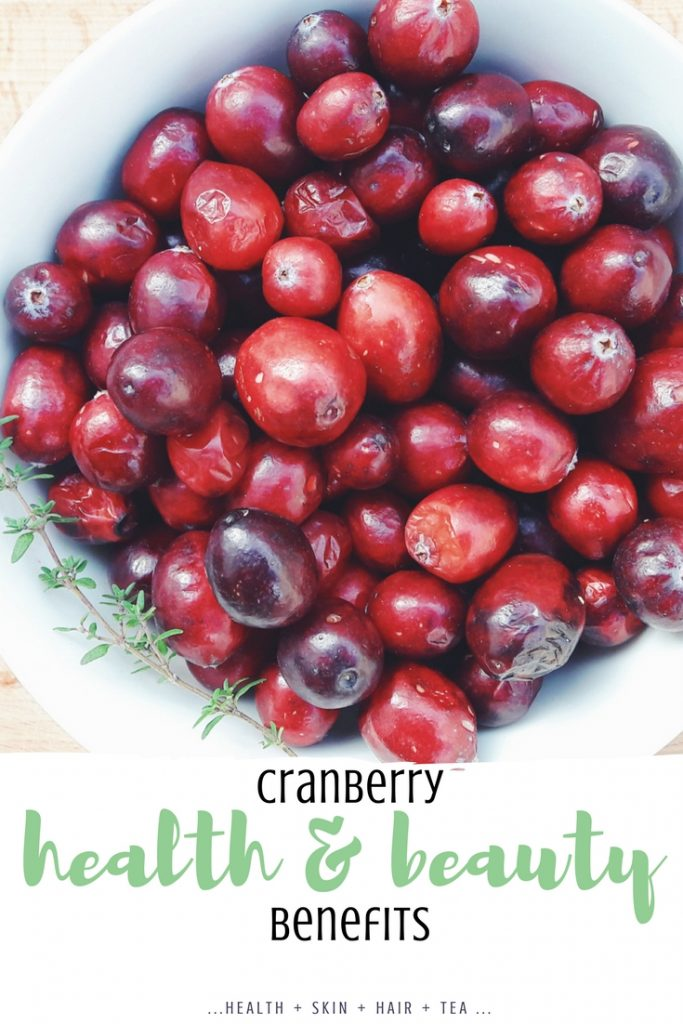 cranberry health benefits and uses for skin and hair