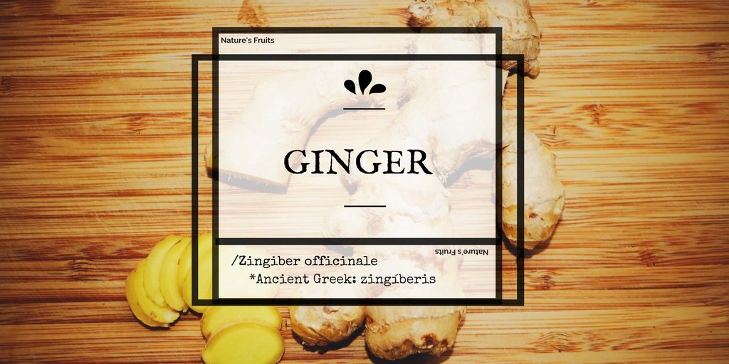Natures Fruits ginger