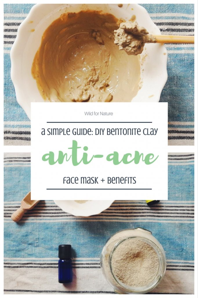 bentonite clay face mask for acne