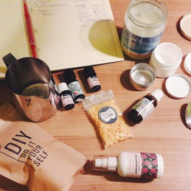 vegan DIY cosmetics