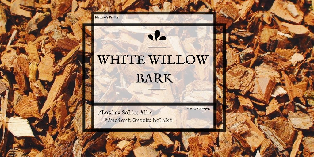 white willow bark