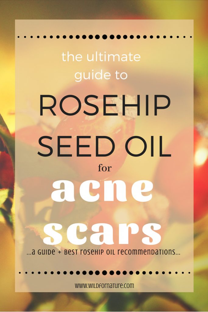 ultimate guide rosehip oil for acne scars