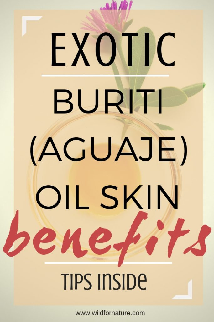 buriti oil skin benefits