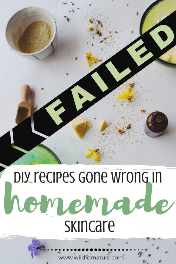 failed DIY recipes gone wrong