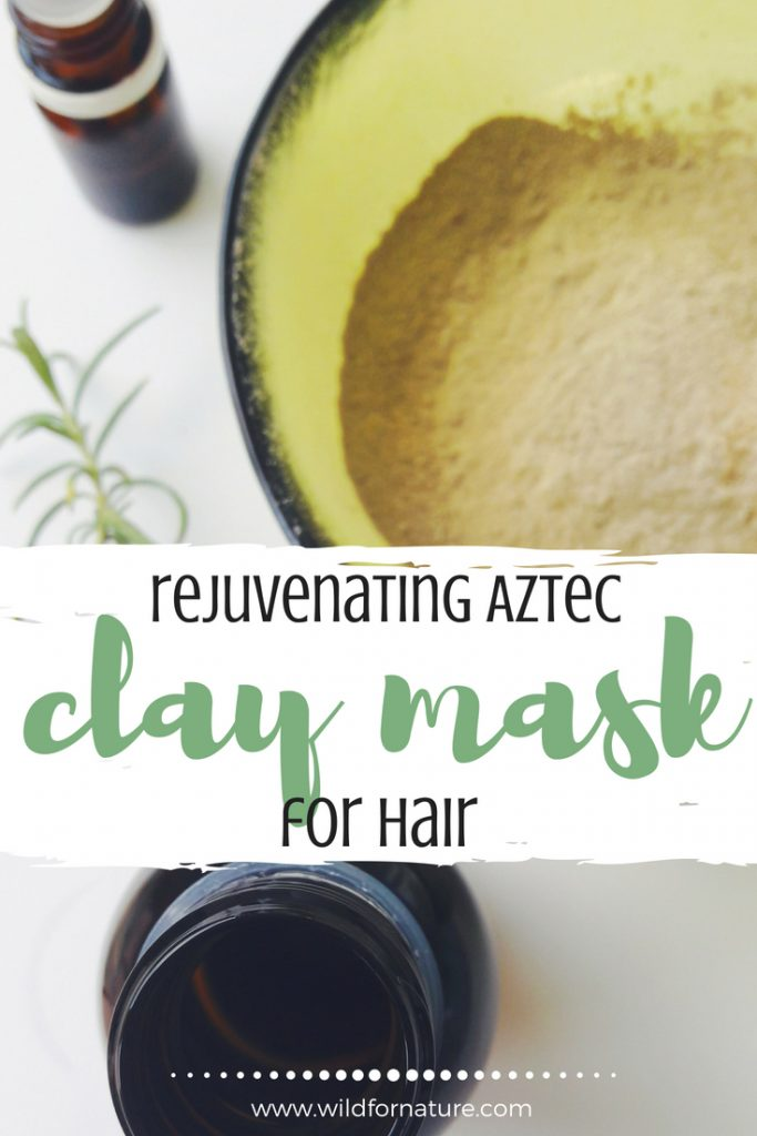 Rejuvenating Aztec Clay Mask for Hair