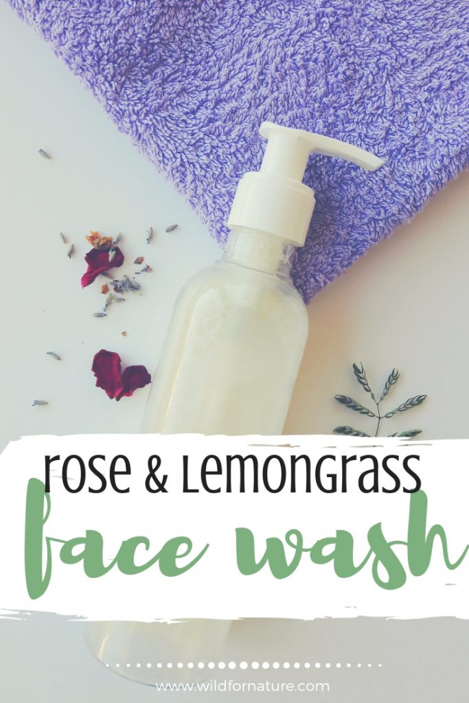 lemongrass homemade daily face wash