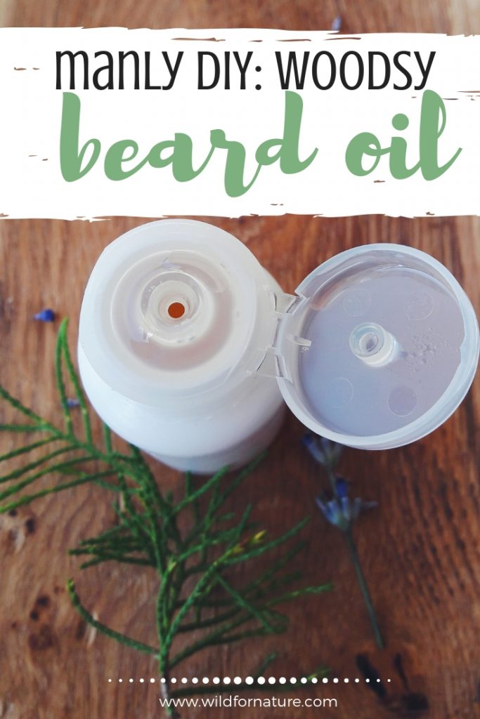 diy woodsy beard oil recipe