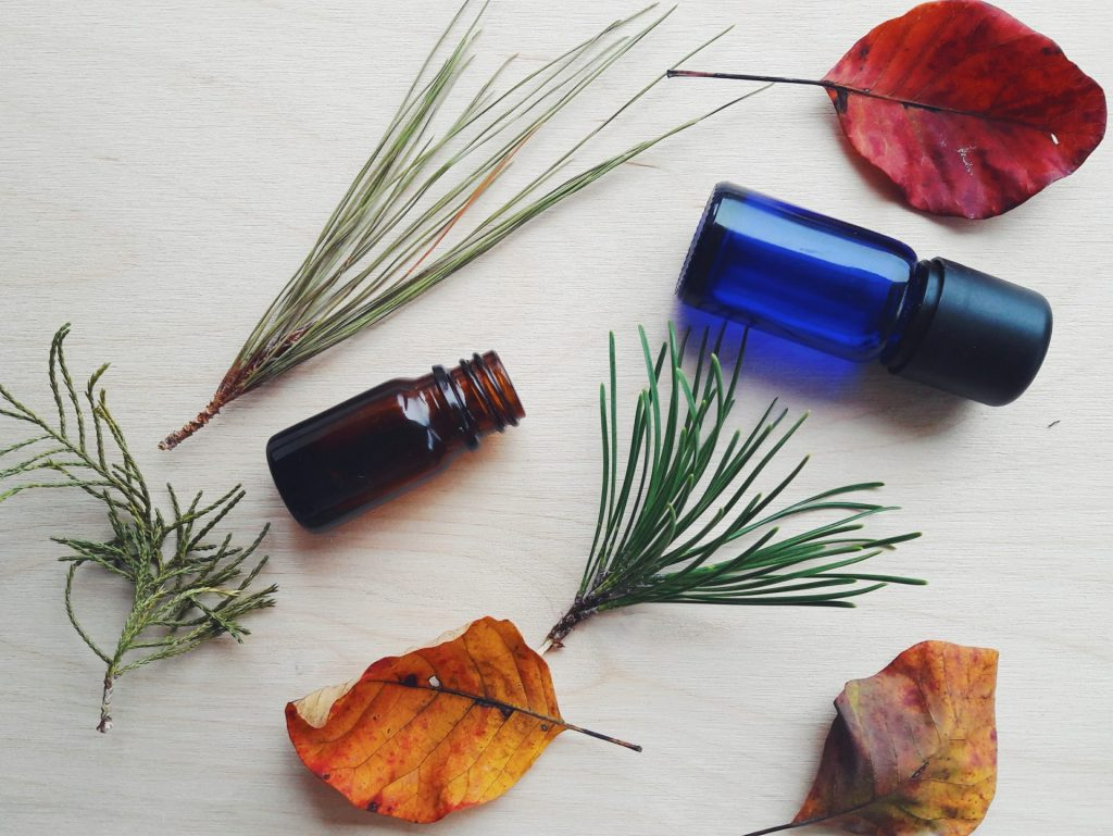 Winter essential oil blends for diffuser
