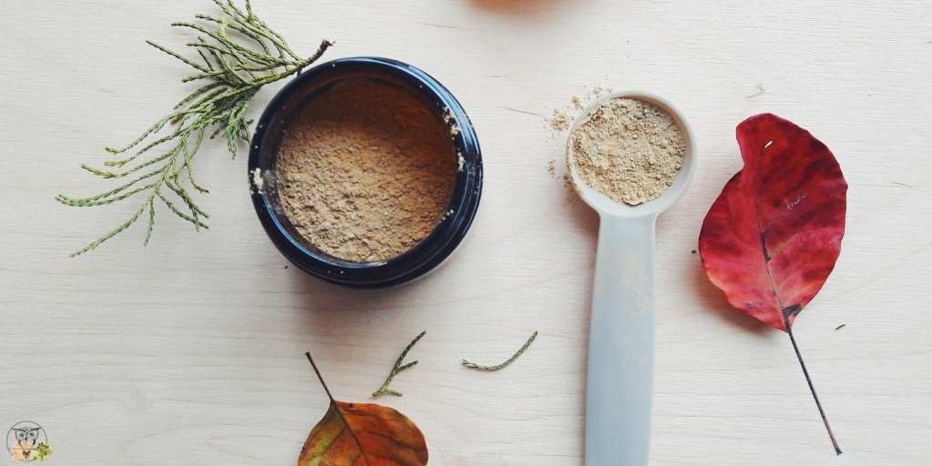 Fizzy clay facial cleanser