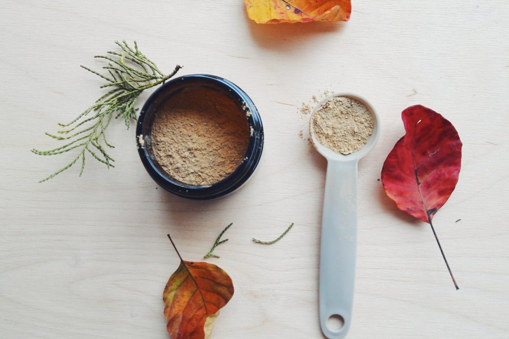 homemade bubble clay mask