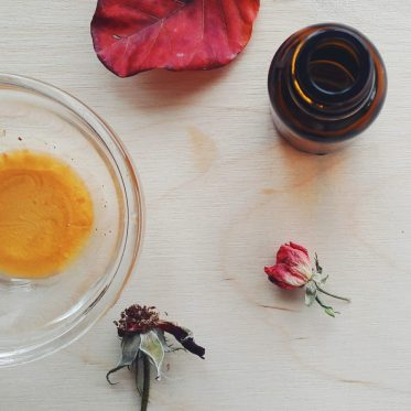 diy Shimmering Body Oil