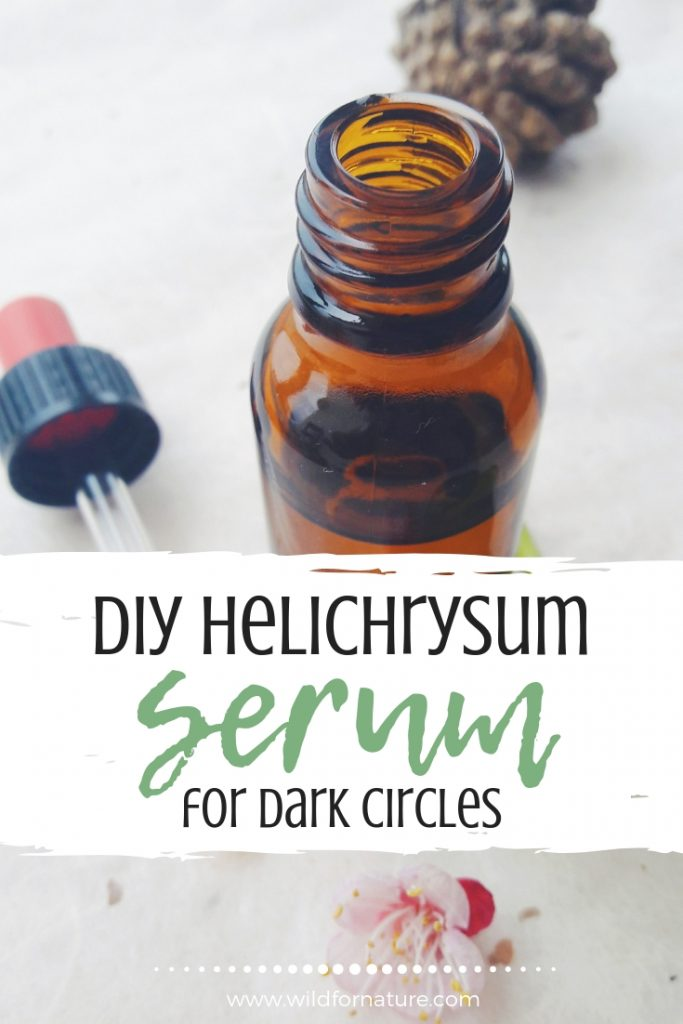 DIY Best Eye Serum For Dark Circles