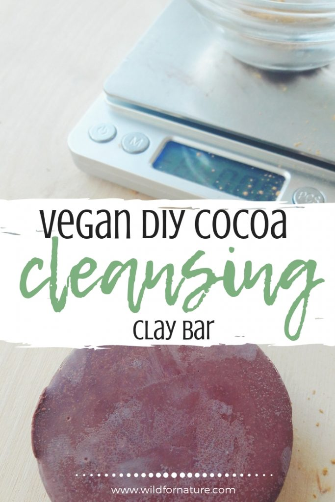 DIY cleansing bar