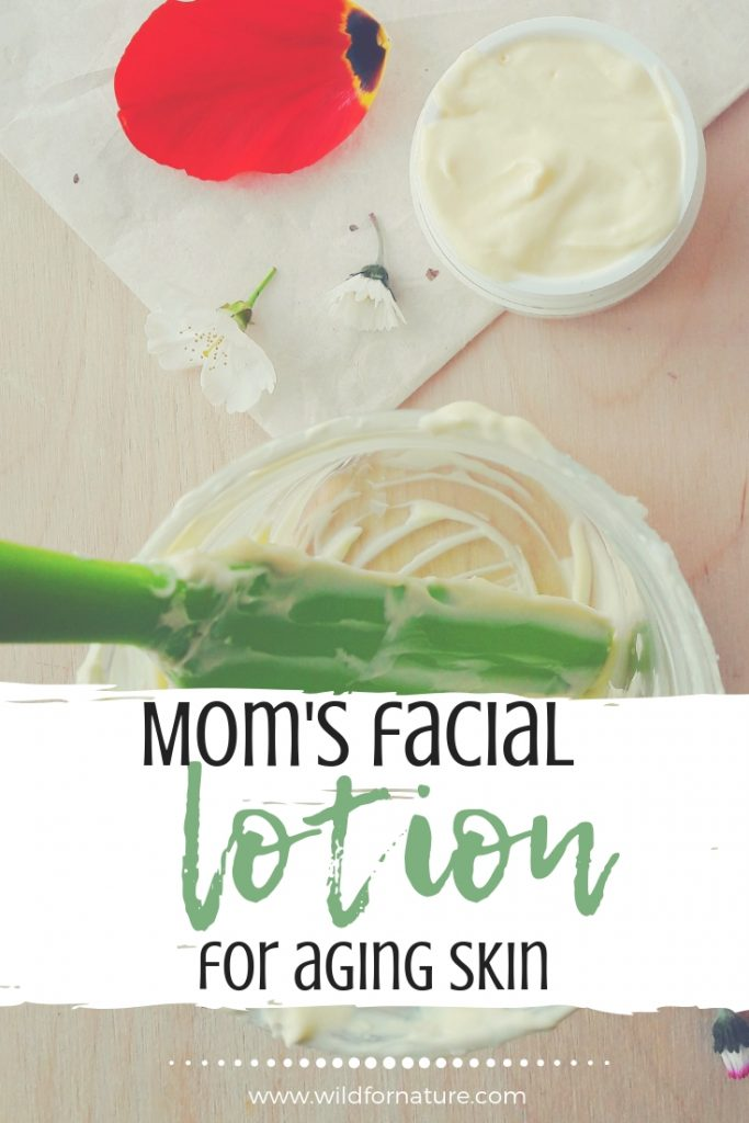 moms facial moisturizer for aging skin