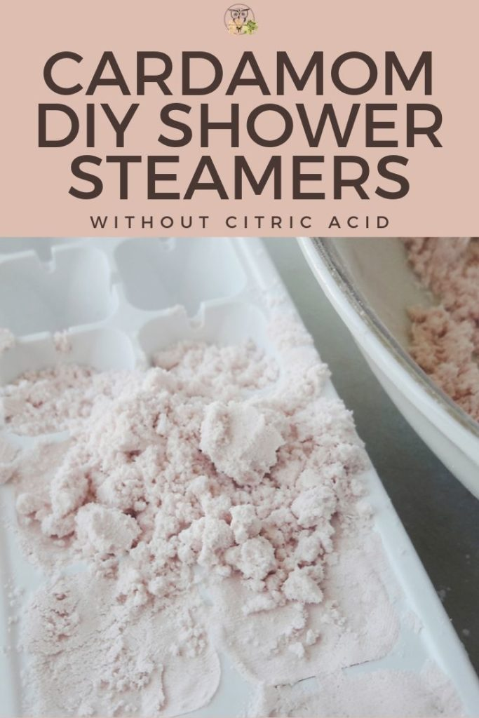 diy shower steamers without citric acid