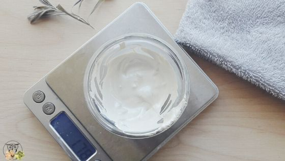 homemade illuminating body butter