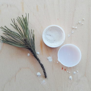 white pearl cream diy luminizer